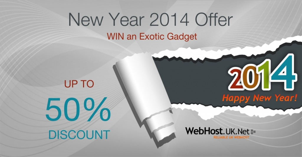 Best UK Web Hosting New Year 2014 Offer