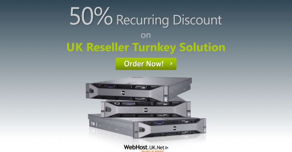 UK Reseller Hosting Offer