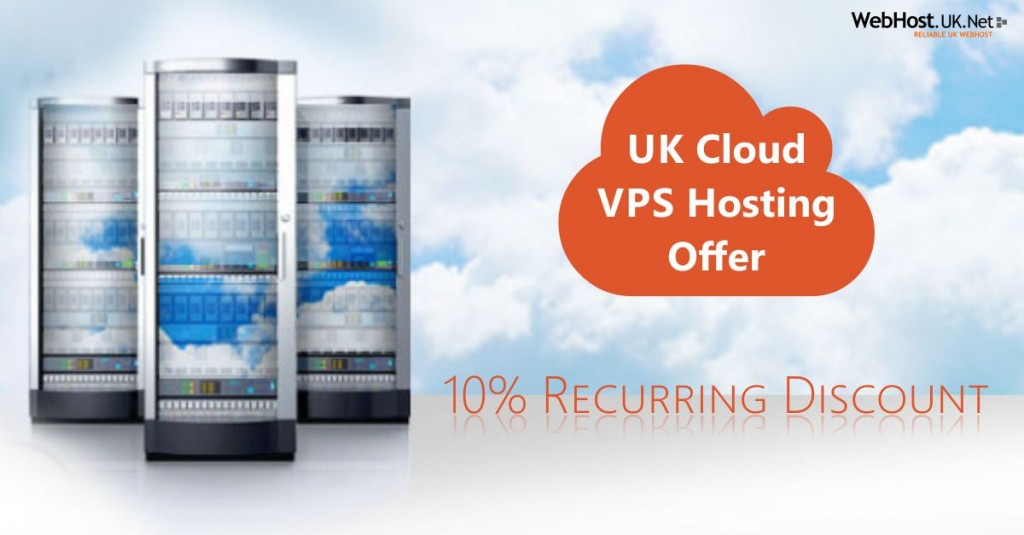 WebHostUK Cloud Hosting Offer