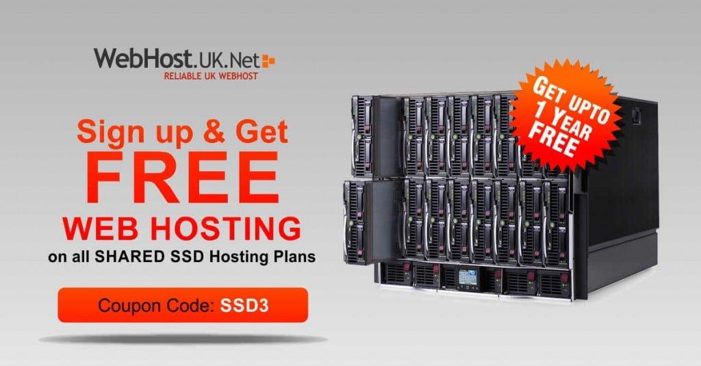 Free SSD Hosting