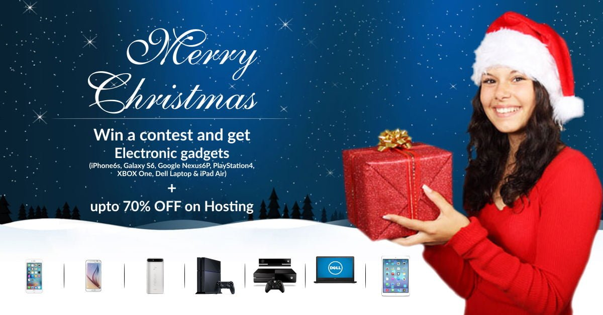 Web Hosting Christmas offer