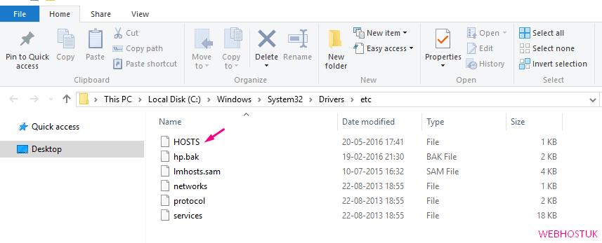 Edit Hosts