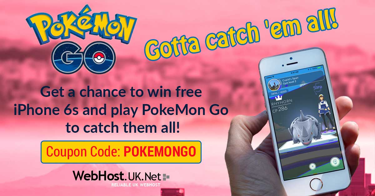 PokeMon-Go iPhone Offer