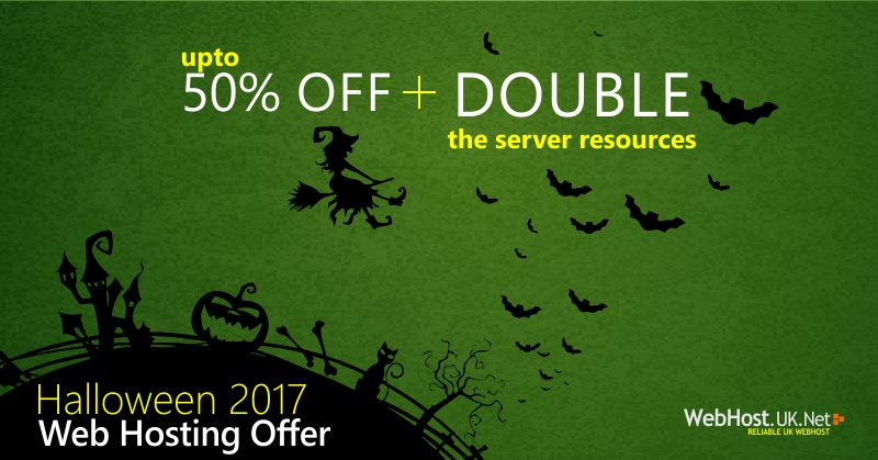 halloween 2017 Hosting offer