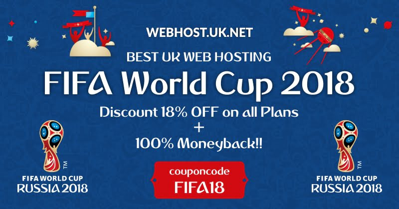 UK WEb hosting FIFA 2018 OFFER