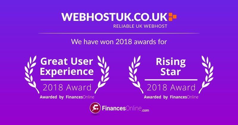 WebhostUK Award 2018